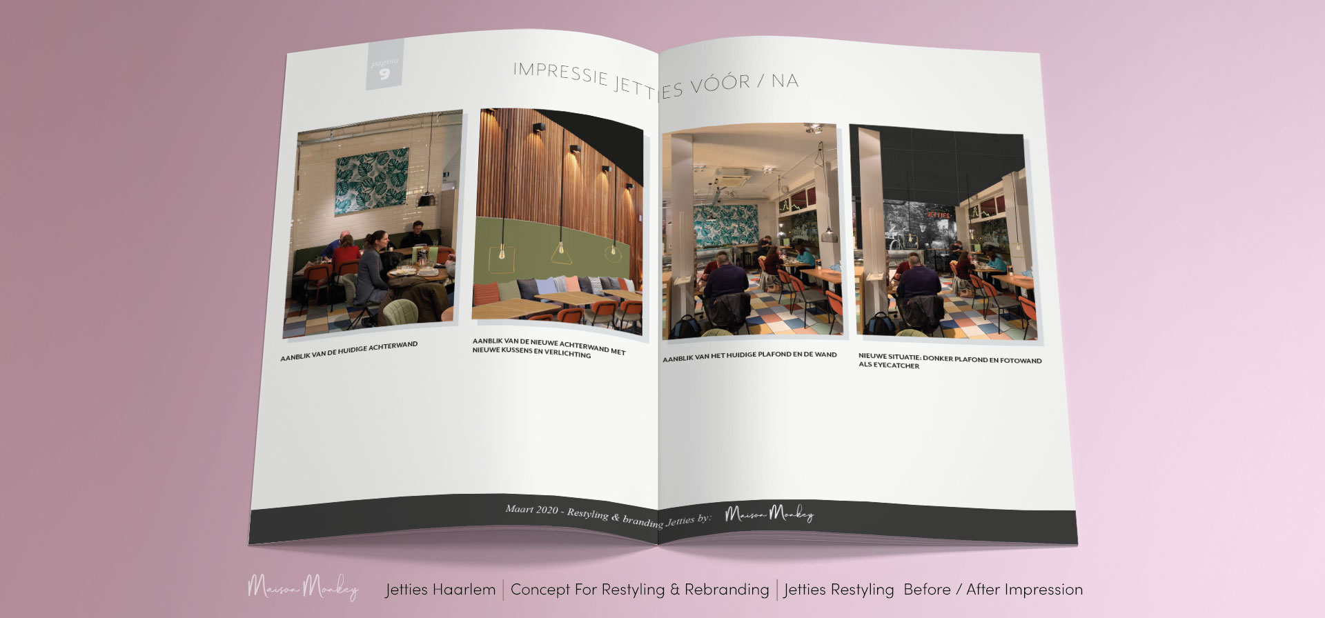 ? For all your Interior Design & Restyling Projects and Rebranding, call or mail Maison Monkey ?